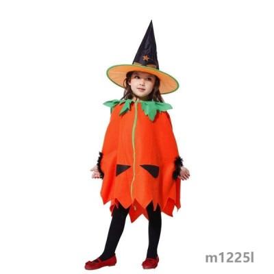 ハロウィン衣装 カボチャ仮装キッズアニメグッズ精霊衣装子供用コスチュームフェアリーコスプレ