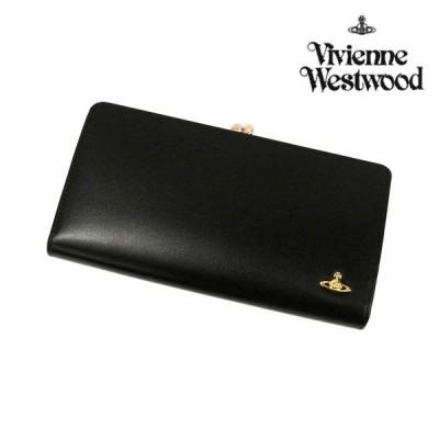 ヴィヴィアンウエストウッド 財布 メンズ レディース 長財布 ヴィンテージオーブ がま口長財布 ブラック 3118M111 Vivienne Westwood ユニセックス  ウォレット