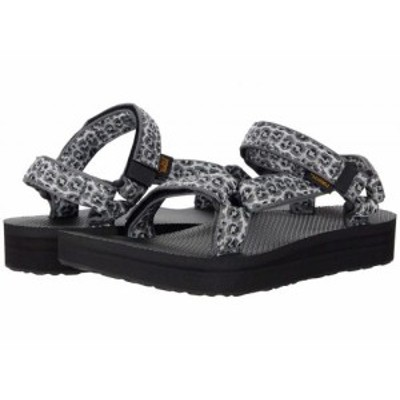 Teva テバ レディース 女性用 シューズ 靴 サンダル Midform Universal Dorinda White/Black【送料無料】