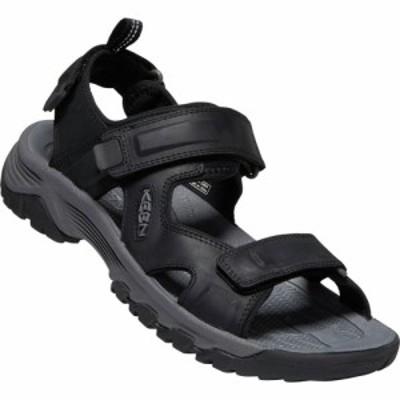 キーン Keen メンズ サンダル オープントゥ シューズ・靴 targhee iii open-toe sandals Black/Grey