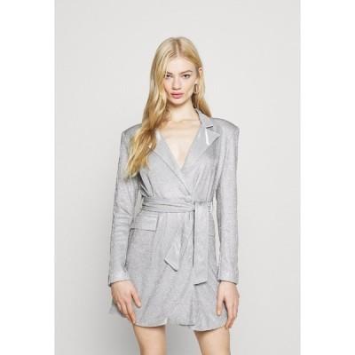 フォース アンド レックス ワンピース レディース トップス JUNO DRESS - Cocktail dress / Party dress - silver metallic