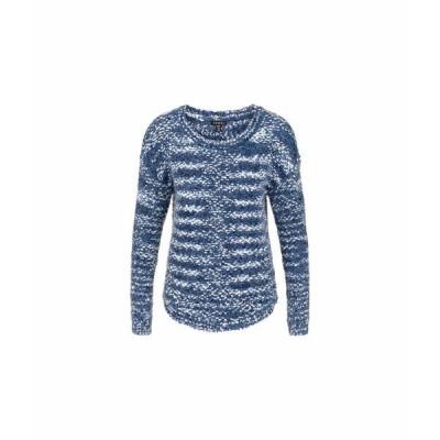トリバル ニット&セーター アウター レディース Long Sleeve Boatneck Sweater Dark Marine