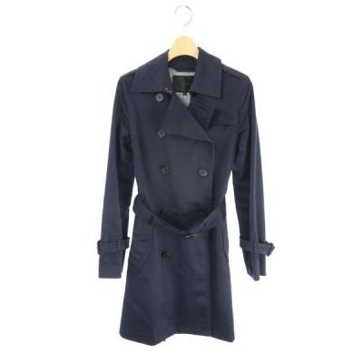 アンタイトル UNTITLED コート トレンチ ベルト 1 紺 /AO レディース【中古】【ベクトル 古着】