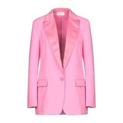 VICOLO テーラードジャケット ピンク L ポリエステル 95% / ポリウレタン 5% テーラードジャケット