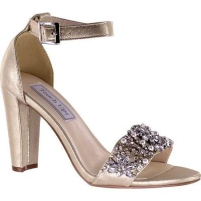 タッチアップス Touch Ups レディース サンダル・ミュール シューズ・靴 Felicity Jeweled Sandal Nude Shimmer