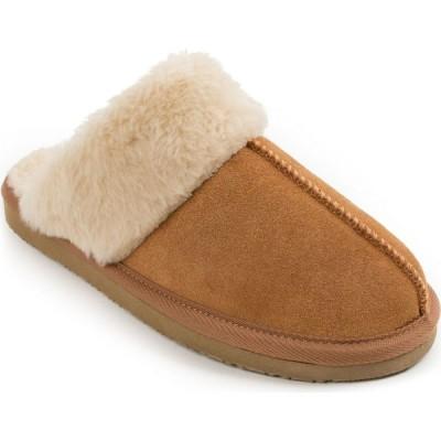 ミネトンカ Minnetonka レディース スリッパ シューズ・靴 Suede Chesney Slipper 40881 cinnamon