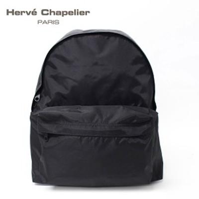 【2019SS】エルベシャプリエ ナイロンデイパック ML【ブラック】 978N 09/HERVE CHAPELIER/l-bag