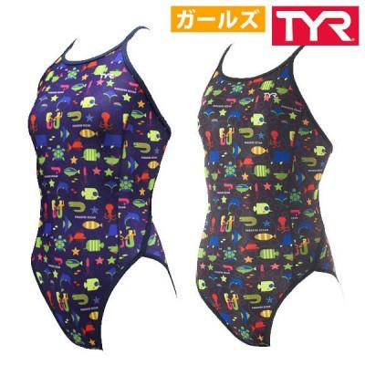 練習用水着 練習 水着 ガールズ ジュニア女子 ティア TYR FOCENJR112 水泳 スイム 21fw