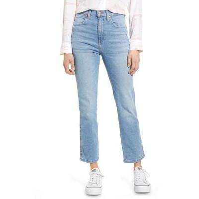 ラングラー デニムパンツ ボトムス レディース Heritage High Waist Ankle Straight Leg Jeans Light Vintage