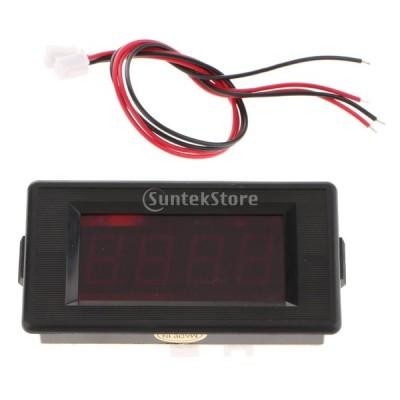 時間計 タイマー クロノメーター 高速 IC トータライザ 時間計 パネル デジタルLED レッド - GDD7949SMSIW-P12V