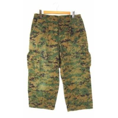 【中古】USMC 米海兵隊 MCCUUパンツ カーゴパンツ ウッドランドマーパット 迷彩 M-R メンズ