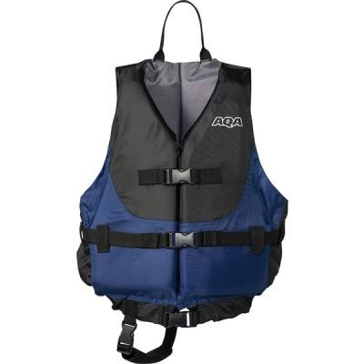 AQA(アクア) ユニセックス ライフジャケット ブラック/ネイビー
