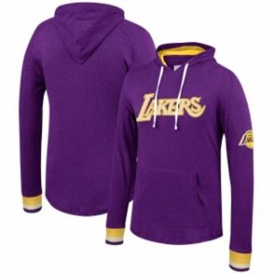 Mitchell & Ness ミッチェル アンド ネス スポーツ用品  Mitchell & Ness Los Angeles Lakers Purple Striped Cuff Pull