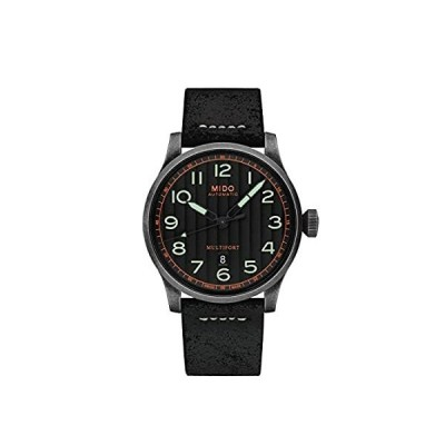 Mido Multifort Automatic Black Dial Mens Watch M032.607.36.050.09