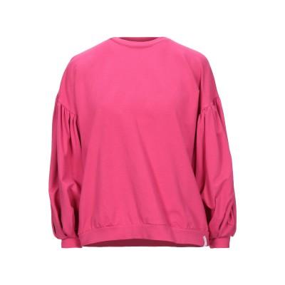 ベルナ BERNA スウェットシャツ フューシャ S コットン 95% / 指定外繊維(その他伸縮性繊維) 5% スウェットシャツ