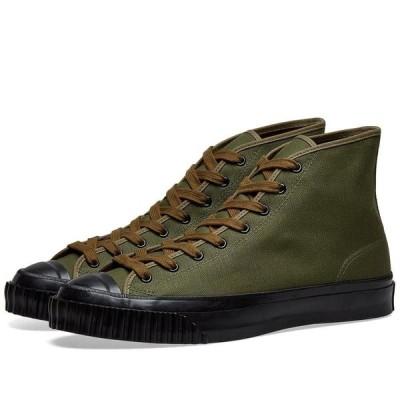 ザ リアル マッコイズ The Real McCoys メンズ スニーカー シューズ・靴 The Real McCoy's Military Canvas Training Shoe Olive