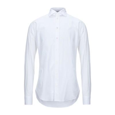アルマーニ コレッツィオーニ ARMANI COLLEZIONI シャツ ホワイト 39 コットン 97% / ポリウレタン 3% シャツ