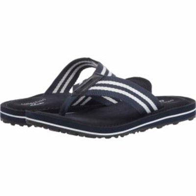 クラークス Clarks レディース ビーチサンダル シューズ・靴 Fenner Sunset Navy Textile