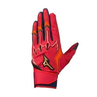 ミズノ(MIZUNO) ミズノプロ シリコンパワーアークLI バッティング手袋(両手用)  1EJEA07961