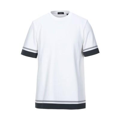 セオリー THEORY T シャツ ホワイト L コットン 100% T シャツ