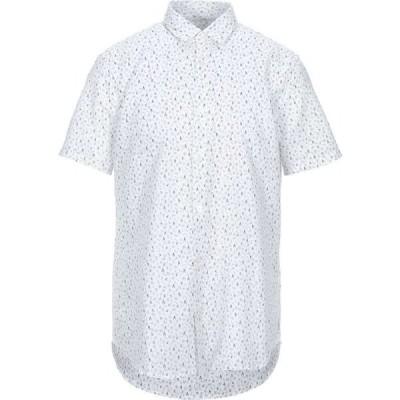 アルマーニ ARMANI EXCHANGE メンズ シャツ トップス linen shirt White