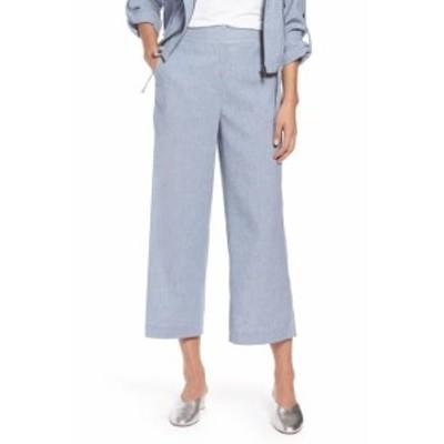 ファッション パンツ Halogen NEW Light Blue Womens Size 14P Petite Wide Leg Dress Pants
