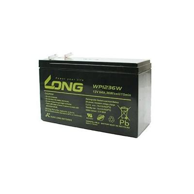 LONG サイクルバッテリー WP1236W(産業用鉛蓄電池)WP8-12 12SN7.5 NP7-12 PE12V7.2 HP6.5-12