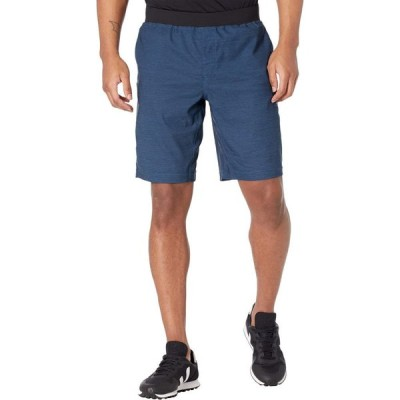 プラーナ Prana メンズ ショートパンツ ボトムス・パンツ Peak To Creek Shorts 9' Admiral Blue Heather
