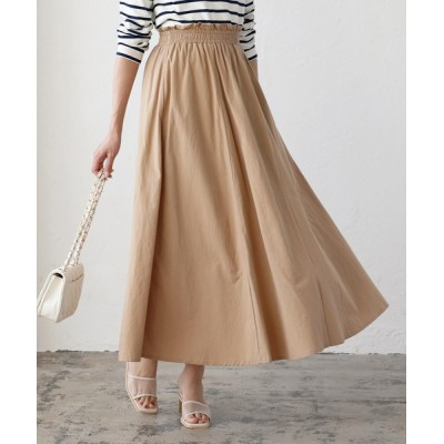kobelettuce / ウエストフリルマキシギャザースカート WOMEN スカート > スカート
