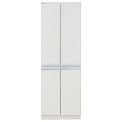 ds-950572 フナモコ キッチンストッカー 【幅60.9×高さ180cm】 ホワイト FSW-605 日本製【代引不可】 (ds950572)