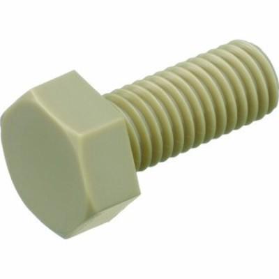 トラスコ ポリエーテルエーテルケトン 六角ボルト M4X10 50本入 (1袋) 品番:BPEEK-BTM4X10