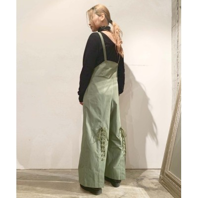grapevine by k3 / LACE UP DUNGAREE WOMEN オールインワン・サロペット > つなぎ/オールインワン