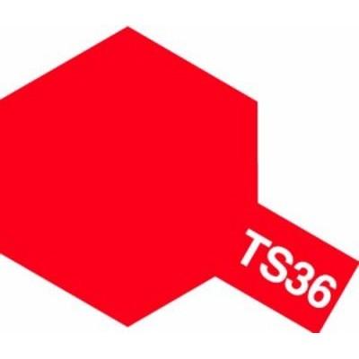 タミヤ スプレーカラー TS-36 蛍光レッド