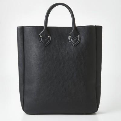 OSYAIRO カラーを楽しむ 大きな内ポケット付きビッグトートバッグ〈ブラック〉 フェリシモ FELISSIMO