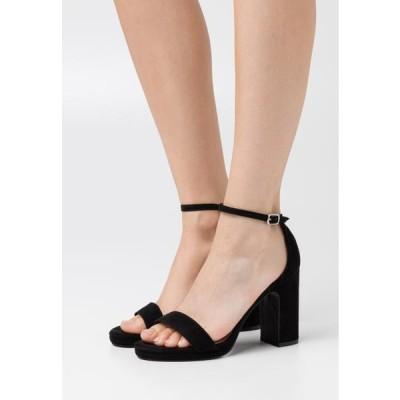 アンナフィールド レディース サンダル High heeled sandals - black