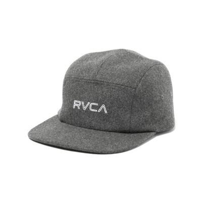 ルーカ メンズ ウール ジェット キャップ チャコール サーフ スケート RVCA WOOL JET CAP CCB AJ042-915