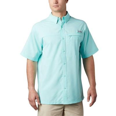 (取寄)コロンビア メンズ グランダー マーリン ウーブン ショートスリーブ シャツ Columbia Men's Grander Marlin Woven SS Shirt Gulf Stream