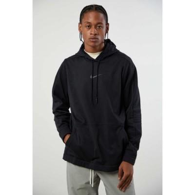 ナイキ Nike メンズ パーカー トップス Pro Fleece Hoodie Sweatshirt Black