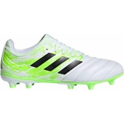 アディダス メンズ スニーカー シューズ adidas Copa 20.3 FG Soccer Cleats White/Green