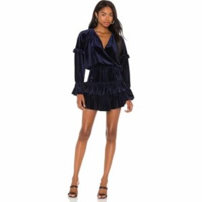 ミサロサンゼルス MISA Los Angeles レディース ワンピース ワンピース・ドレス Amalya Dress Navy