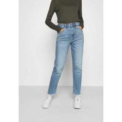 アメリカンイーグル レディース デニムパンツ ボトムス MOM JEANS - Slim fit jeans - washed blue washed blue