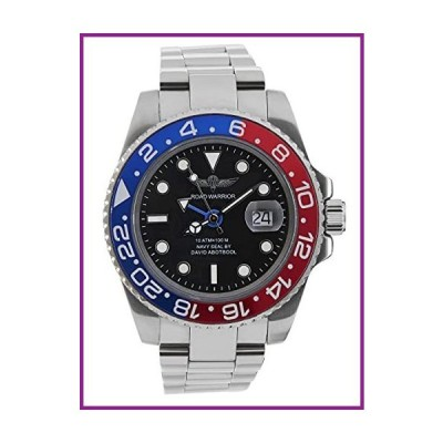 Time Warrior GMT Navy Seal Swiss Men's GMT Watch Black Dial, 316L CASE - Ceramic Bezel, Swiss Quartz Movement, Men's Watch Pro Diver Watch,