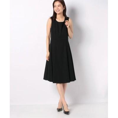 MISS J/ミス ジェイ ドビークロス ドレス ブラック 40