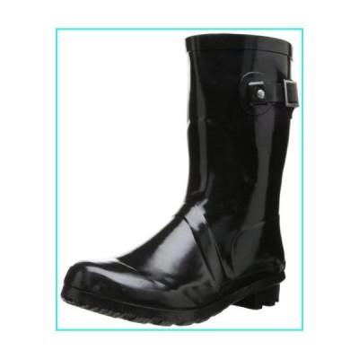 【新品】Western Chief Women's Classic Mid Rain Boot, Black, 9 M US(並行輸入品)