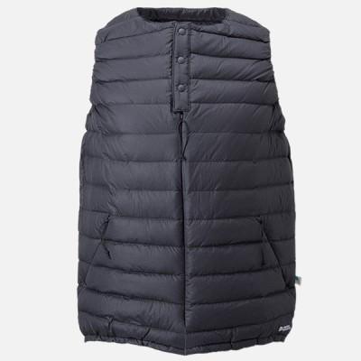 カリマー ボイジャー ウィメンズ ダウン ベスト voyager W's down vest ブラック Lサイズ 179924