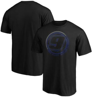 ユニセックス スポーツリーグ モータースポーツ Chase Elliott Fanatics Branded Stealth Pop Revive T-Shirt - Black