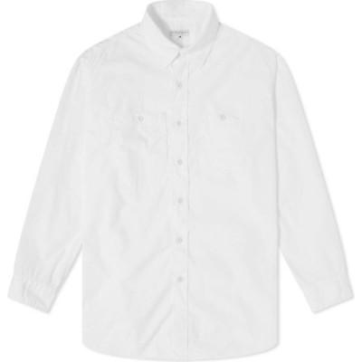 エンジニアードガーメンツ Engineered Garments メンズ シャツ トップス work shirt White