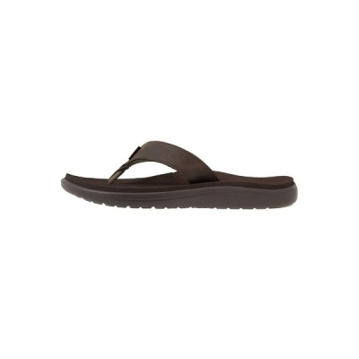 テバ サンダル メンズ シューズ VOYA FLIP MENS - T-bar sandals - chocolate brown