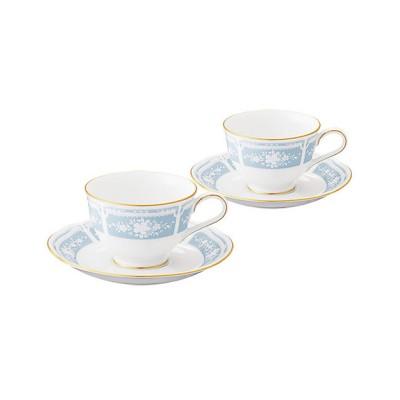 <NORITAKE/ノリタケ> LACEWOOD GOLDレースウッドゴールド ティー・コーヒー碗皿ペア【三越伊勢丹/公式】