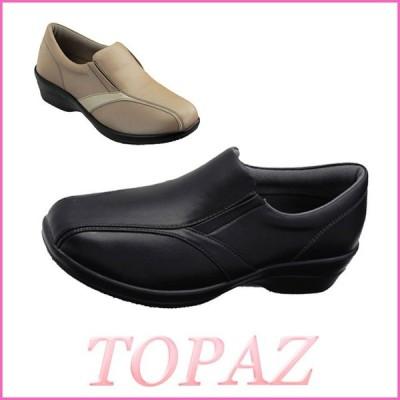 ラウンドトゥ スニーカー SNEAKERS TOPAZ ( トパーズ )(4807)   軽量 EEEE 黒 靴 シューズ お取り寄せ商品